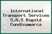 International Transport Services S.A.S Bogotá Cundinamarca