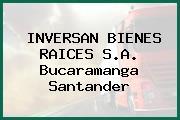 INVERSAN BIENES RAICES S.A. Bucaramanga Santander