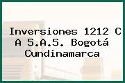 Inversiones 1212 C A S.A.S. Bogotá Cundinamarca