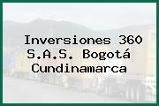 Inversiones 360 S.A.S. Bogotá Cundinamarca