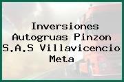 Inversiones Autogruas Pinzon S.A.S Villavicencio Meta