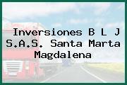 Inversiones B L J S.A.S. Santa Marta Magdalena
