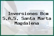 Inversiones Bcm S.A.S. Santa Marta Magdalena