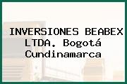 INVERSIONES BEABEX LTDA. Bogotá Cundinamarca