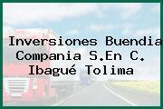 Inversiones Buendia Compania S.En C. Ibagué Tolima