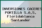 INVERSIONES CACERES PORTILLA S.A.S. Floridablanca Santander