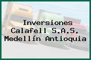 Inversiones Calafell S.A.S. Medellín Antioquia