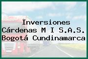Inversiones Cárdenas M I S.A.S. Bogotá Cundinamarca