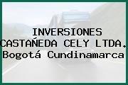INVERSIONES CASTAÑEDA CELY LTDA. Bogotá Cundinamarca