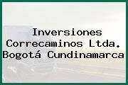 Inversiones Correcaminos Ltda. Bogotá Cundinamarca