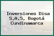 Inversiones Disa S.A.S. Bogotá Cundinamarca