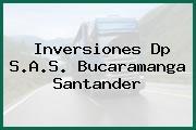 Inversiones Dp S.A.S. Bucaramanga Santander