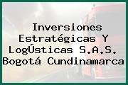 Inversiones Estratégicas Y LogÚsticas S.A.S. Bogotá Cundinamarca