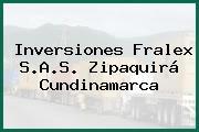 Inversiones Fralex S.A.S. Zipaquirá Cundinamarca