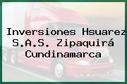 Inversiones Hsuarez S.A.S. Zipaquirá Cundinamarca