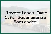 Inversiones Imar S.A. Bucaramanga Santander