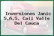 Inversiones Janic S.A.S. Cali Valle Del Cauca