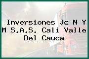 Inversiones Jc N Y M S.A.S. Cali Valle Del Cauca
