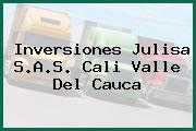 Inversiones Julisa S.A.S. Cali Valle Del Cauca