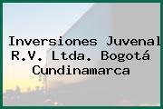 Inversiones Juvenal R.V. Ltda. Bogotá Cundinamarca