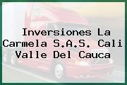 Inversiones La Carmela S.A.S. Cali Valle Del Cauca