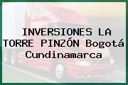 INVERSIONES LA TORRE PINZÓN Bogotá Cundinamarca