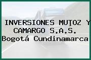 INVERSIONES MUÞOZ Y CAMARGO S.A.S. Bogotá Cundinamarca