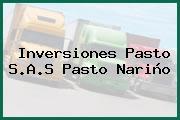 Inversiones Pasto S.A.S Pasto Nariño