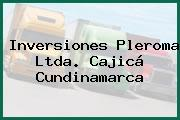 Inversiones Pleroma Ltda. Cajicá Cundinamarca