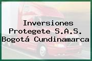 Inversiones Protegete S.A.S. Bogotá Cundinamarca