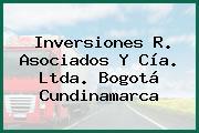 Inversiones R. Asociados Y Cía. Ltda. Bogotá Cundinamarca