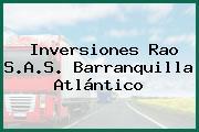 Inversiones Rao S.A.S. Barranquilla Atlántico