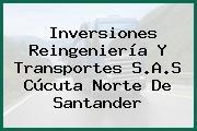 Inversiones Reingeniería Y Transportes S.A.S Cúcuta Norte De Santander