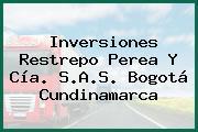 Inversiones Restrepo Perea Y Cía. S.A.S. Bogotá Cundinamarca