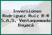 Inversiones Rodriguez Ruiz R-R S.A.S. Ventaquemada Boyacá