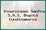 Inversiones Sanfra S.A.S. Bogotá Cundinamarca