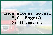 Inversiones Soleil S.A. Bogotá Cundinamarca