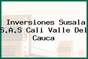 Inversiones Susala S.A.S Cali Valle Del Cauca