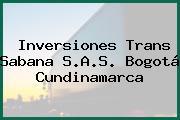 Inversiones Trans Sabana S.A.S. Bogotá Cundinamarca