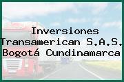 Inversiones Transamerican S.A.S. Bogotá Cundinamarca