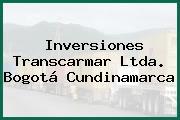 Inversiones Transcarmar Ltda. Bogotá Cundinamarca