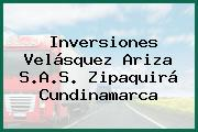 Inversiones Velásquez Ariza S.A.S. Zipaquirá Cundinamarca