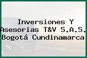 Inversiones Y Asesorias T&V S.A.S. Bogotá Cundinamarca