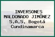 INVERSONES MALDONADO JIMÕNEZ S.A.S. Bogotá Cundinamarca