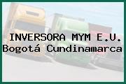 INVERSORA MYM E.U. Bogotá Cundinamarca