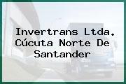 Invertrans Ltda. Cúcuta Norte De Santander