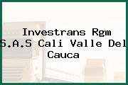 Investrans Rgm S.A.S Cali Valle Del Cauca