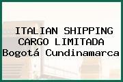 ITALIAN SHIPPING CARGO LIMITADA Bogotá Cundinamarca