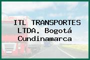 ITL TRANSPORTES LTDA. Bogotá Cundinamarca