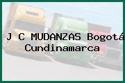 J C MUDANZAS Bogotá Cundinamarca